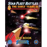Star Fleet Battles: Module Y3 - The Early Years III SSD Book (B&W)