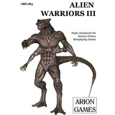 Paper Miniatures: Alien Warriors Set III
